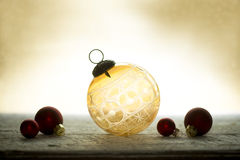 Antique Crystal Christmas Ornament Stock Photography