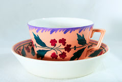 Antique Cup. In beautiful colours Royalty Free Stock Photo