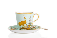 Antique Cup & Saucer Stock Photography