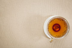 Antique cup of tea Royalty Free Stock Photography