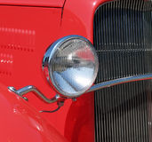 Antique and Custom car. Vintage car grill Royalty Free Stock Photography