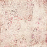 Antique damask background. Antique grunge pink and cream damask background royalty free stock images