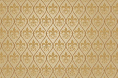 Antique damast wallpaper Royalty Free Stock Photo