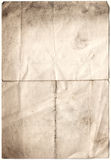 Antique Decayed Paper (inc cli. Scanned decayed old paper, all with clipping paths included royalty free stock photography