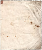 Antique Decayed Paper (inc cli. Scanned decayed old paper, all with clipping paths included Stock Images