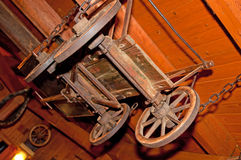 Antique Decorative Cart Royalty Free Stock Photography