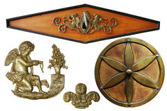 Antique decorative elements Stock Images