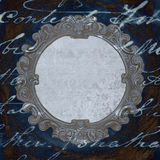 Antique decorative frame Royalty Free Stock Photos