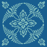 Antique decorative textile pattern Royalty Free Stock Images