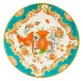 Antique Derby Plate. An early Victorian Derby plate c1840 - genuine antiques series stock images