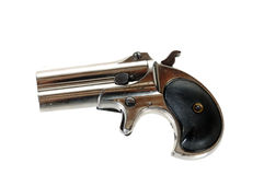 Antique derringer Stock Photo