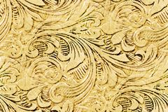 Antique design abstract. Elegant flourishes: antique silver engraved design as pattern repeat Royalty Free Stock Photo