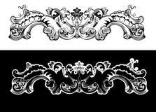 Antique Design Element Engraving Stock Photo