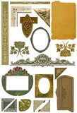 Antique design elements 3 Royalty Free Stock Photo