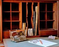 Antique Desk. An Antique Desk on Display Stock Photos