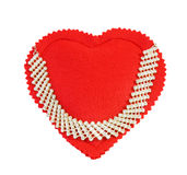 Antique diamonds necklace Stock Image