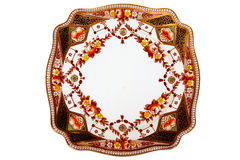 Antique dinner plate Stock Image