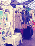 Antique display Greenwich market. Famous place to buy an art, crafts, antiques etc., London Royalty Free Stock Photography