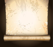 Antique Distressed Parchments Stock Photography