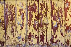 Antique distressed wooden planks and boards stock photo