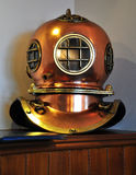 Antique Divers Helmet Royalty Free Stock Images