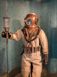 Antique Diving Suit Stock Photos