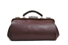 Antique doctors bag Royalty Free Stock Photography