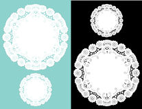 antique doilies lace Стоковая Фотография RF