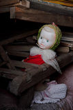 Antique doll Stock Photography