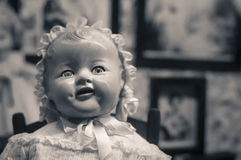 Antique doll Royalty Free Stock Photography