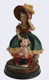 Antique doll. Figurine girl in hat Royalty Free Stock Photography