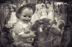 Antique doll Royalty Free Stock Photos