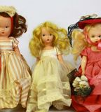 Antique dolls Stock Photography
