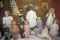 Antique Dolls, Cape Cod, Massachusetts Royalty Free Stock Photo