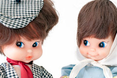 Antique dolls Stock Photography
