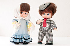 Antique dolls Stock Image