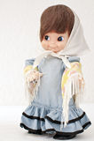 Antique dolls royalty free stock photography