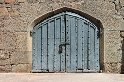 Antique door Royalty Free Stock Images