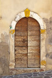 Antique door Royalty Free Stock Photography