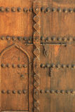 Antique door, dubai, united arab emirates Royalty Free Stock Image