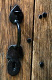Antique Door & Handle Royalty Free Stock Photography