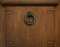 Antique door handle Stock Photography