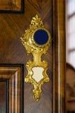 Antique door handle Stock Photography