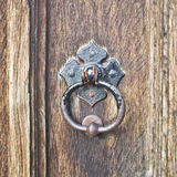 Antique door handle Royalty Free Stock Photography