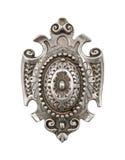 Antique door handle royalty free stock image