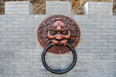 Antique Door Knocker, China Stock Image