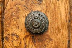 An Antique Door Knocker. Close up of An Antique Door Knocker Stock Image