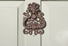 Antique door knocker Stock Image