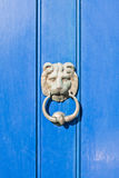 Antique door knocker Royalty Free Stock Photos
