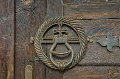 Antique Door Knockers Royalty Free Stock Image